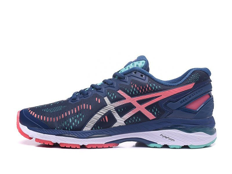 Tênis Asics Gel Kayano 23 - Feminino - Azul e Verde TÊNIS RUN - Running  Performance Shoes e9b43ffbe90a4