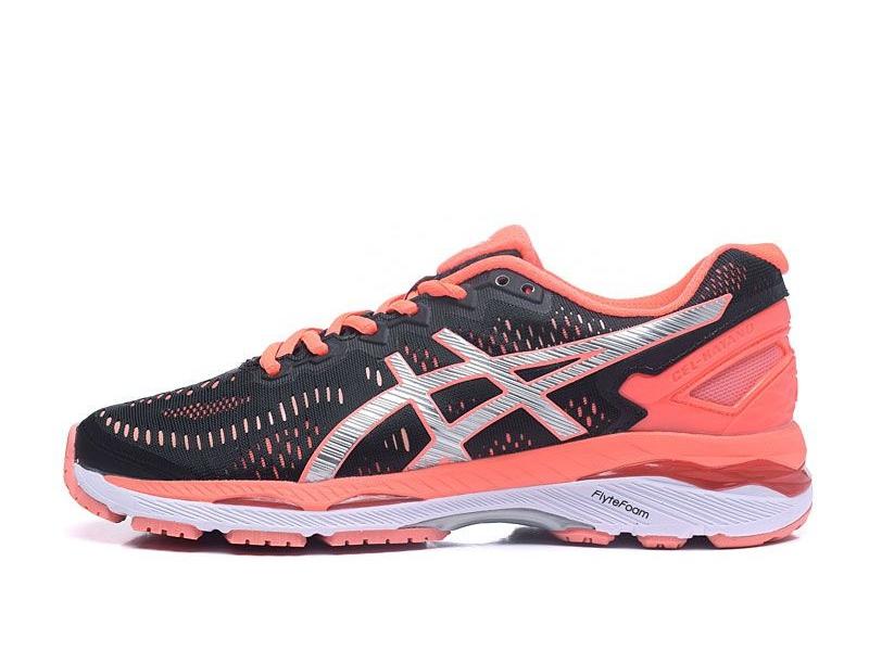d7a6ab6cdeb Tênis Asics Gel Kayano 23 - Feminino - Preto e Rosa TÊNIS RUN - Running  Performance Shoes